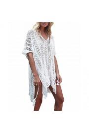LA PLAGE Women's Crochet Loose Knitted Swimsuit Cover Ups - My look - $17.99