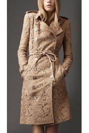 Lace Pea Coat - My look -