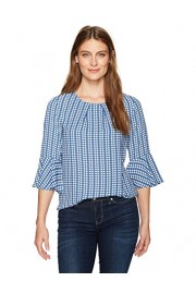 Lark & Ro Women's 3/4 Bell Sleeve Top - My look - $14.63
