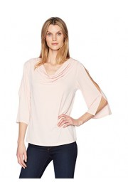 Lark & Ro Women's 3/4 Sleeve Cowlneck Top - My look - $39.00