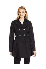 Lark & Ro Women's Fit and Flare Trench Coat Coat - My look - $89.00