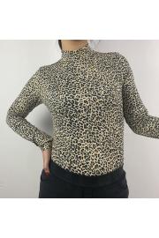 Leopard Half-neck Collar Sexy Snake Long - O meu olhar - $25.99  ~ 22.32€