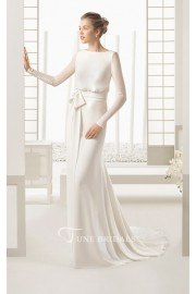 Long Sleeved Chiffon Dress - My look -