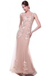 Meier Women's Mermaid Embroidery Prom Evening Formal Dress - Moj look - $179.00  ~ 1.137,11kn
