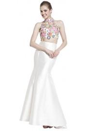 Meier Women's Two Piece Embroidery Beaded Mermaid Prom Formal Pageant Dress - Moj look - $169.00  ~ 1.073,58kn