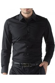 Men's Casual Business Slim Fit Shirt Button Down - My look - $6.99