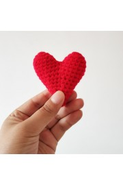 Mother hand-knitted heart - My look - $9.99