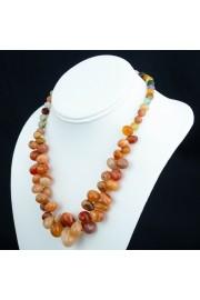Multi-Agate Necklace - Myファッションスナップ -