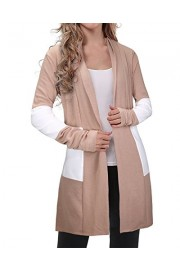 OUGES Women's Long Sleeve Open Front Knit Cardigan Sweaters - My look - $35.99