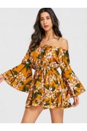 Off Shoulder Mini Dress - Passerella -