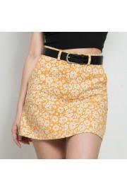 Orange printed high waist pocket versati - Moj look - $29.99  ~ 190,51kn