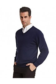 PAUL JONES Men's Knitting Sweater Stylish Long Sleeve V-Neck Pullover - My look - $19.99