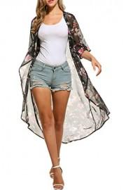 PEATAO Bathsuit Cover ups for Women Women Cardigan Kimono Women Cardigan Summer Cover-Ups - My look - $16.84