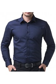 Paul Jones Men's Long Sleeves Button Down Dress Shirts - My look - $8.99