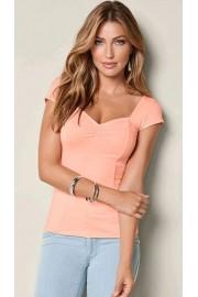 Pink short-sleeve tee (Venus) - My look - $26.00