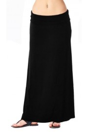 Popana Regular and Plus Size Comfortable and Versatile Maxi-Skirt - Made in USA - My look - $12.99