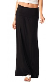 Popana Super Soft Fold Over Maxi Skirt - Made in USA - My look - $12.99