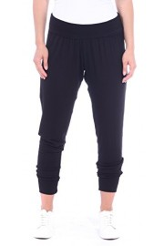 Popana Women's Cropped Jogger Pants. Ankle Length Harem Pants -Made In USA - My look - $19.99