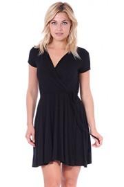 Popana Women's Swing Cap Sleeve Midi Above The Knee Length Summer Dress - Made in USA - My look - $19.99