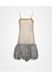 Prada feather dress - My look -