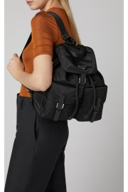 Prada Leather-Trimmed Shell Backpack - Il mio sguardo -