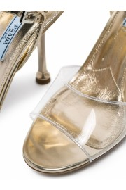 Prada Transparent Detail Sandals - My时装实拍 -