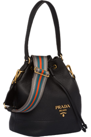 Prada leather bucket bag - My look -