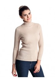 PrettyGuide Women's Ribbed Turtleneck Long Sleeve Sweater Tops - My look - $26.99