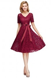 ROSE IN THE BOX Women's Prom Evening Party Dress Banquet Cockatil Dress - Moj look - $32.99  ~ 28.33€