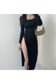 Sexy low-cut strapless off-shoulder high - My look - $25.99