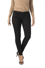 Signature by Levi Strauss & Co. Women's Low Rise Jeggings with Super Stretch Denim (Black Night Sky) - My look - $24.84