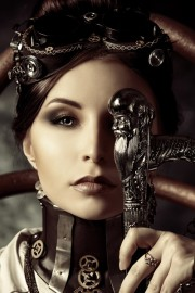 Steampunk model - Wybieg -
