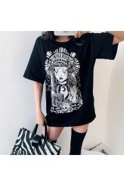 Street Harajuku casual loose printed sho - Моя внешность - $25.99  ~ 22.32€