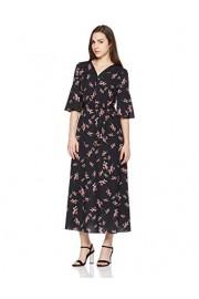 Suite Alice Short Sleeve V Neck Waist Tie Print Dress - O meu olhar - $37.95  ~ 32.59€