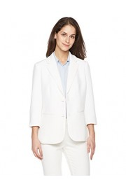 Suite Alice Women's 3/4 Sleeve Two Button Lightweight Blazer - O meu olhar - $54.95  ~ 47.20€