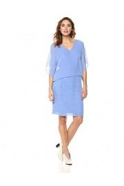 Suite Alice Women's Cold Shoulder V-Neck Woven Midi Dress - O meu olhar - $29.95  ~ 25.72€