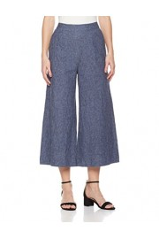 Suite Alice Women's Cropped Wide Leg Casual Trousers - O meu olhar - $24.95  ~ 21.43€