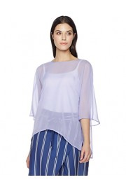Suite Alice Women's Women's Casual Relaxed Fit Chiffon Blouse - O meu olhar - $20.95  ~ 17.99€