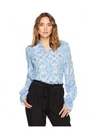 Suite Alice Women's Women's Long Sleeve Button Down Casual Printed Shirt - O meu olhar - $30.95  ~ 26.58€