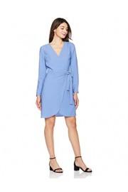 Suite Alice Women's Women's Woven Long Sleeve Front Wrap Midi Dress - O meu olhar - $34.95  ~ 30.02€