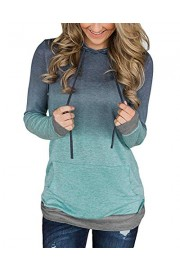Twinklady Women's Hoodies Long Sleeve Floral Pullover Casual Sweatshirt with Pockets - O meu olhar - $9.99  ~ 8.58€