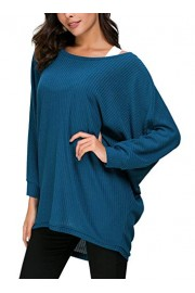 Urban CoCo Women's Round Neck Solid Knit Loose Pullover Sweater - My look - $15.98