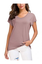 Urban CoCo Women's Short Sleeve Loose V Neck T-Shirt - My look - $14.86