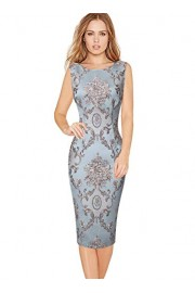 VFSHOW Womens Lace Elegant Cocktail Party Bodycon Sheath Dress - My look - $34.99