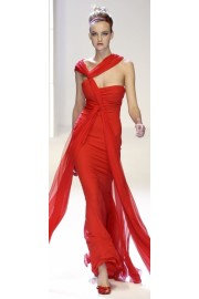 Valentino Red Gown - Laufsteg -