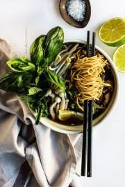 Vietnamita soup with noodles - Mis fotografías -