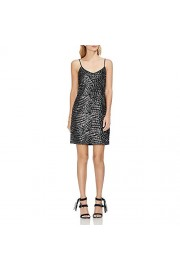 Vince Camuto Women's Silver Fan Sequin Cami Dress - Moj look - $31.58  ~ 200,61kn