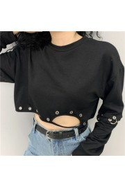 Vintage dark Harajuku ring stitching hol - My look - $27.99  ~ £21.27