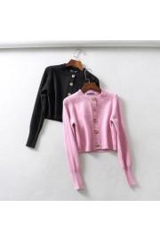 Vintage openwork knit short cardigan jac - Myファッションスナップ - $29.99  ~ ¥3,375