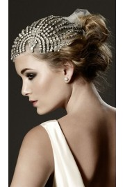 Vintage wedding headpiece - Laufsteg -